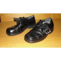 Zapatos Storkman De Cuero Hombre Con Hevilla N° 40 Negro