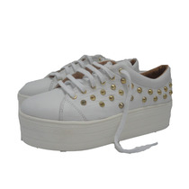 Zapatos Mujer Plataformas Zapatillas Panchas Cuero Paradisea