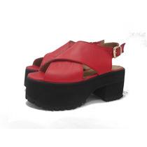 Zapatos Mujer Panchas Sandalias Plataformas Paradisea