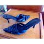 Zapatos Stiletto Cuero Rh Positivo Talle 39/40 Taco 9 Cm