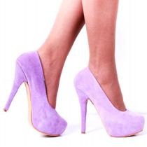 Stilletto De Cuero Crudo Modelo 2015 Loreley De Shoes Bayres