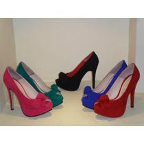 Zapatos Con Plataforma Nuevos Coleccion Primavera-verano 14