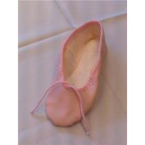 Zapatillas Para Danza Media Punta Cuerina