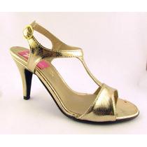 Stilettos Luis Xv Sandalias Taco Medio Zapatos Fiesta Vestir