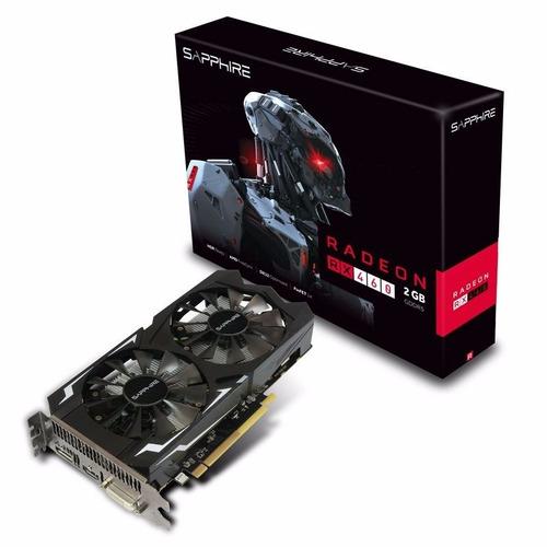 Placa Sapphire Amd Ati Radeon Rx 460 2gb 128-bit Gddr5