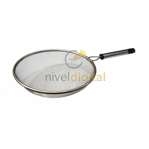 Colador Malla Metalica 16 Cm. Mango Metalico