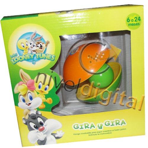 Hongo Involcable C/ Pelota Sonido Looney Tunes Bebes En Caja