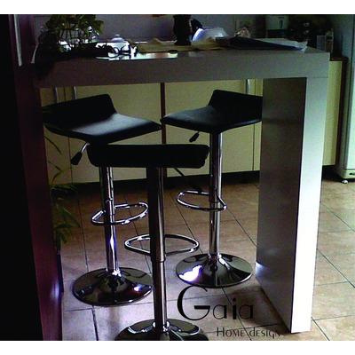 Barra mesa desayunador laqueado madera moderno minimalista - Mesas de cocina tipo barra ...