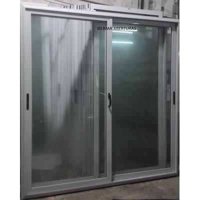 Puerta balcon aluminio linea modena x oferta for Puertas balcon de aluminio precios en rosario