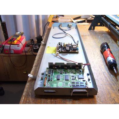 Asi queda la maquina despues de una reparación y mantenimiento