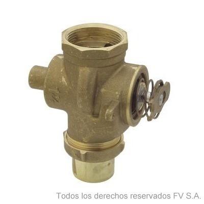Valvula descarga inodoro fv tecla 4075 0 for Valvula descarga inodoro