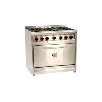 Cocina industrial fornax 90 cm puerta acero linea tavola for Puerta cocina industrial