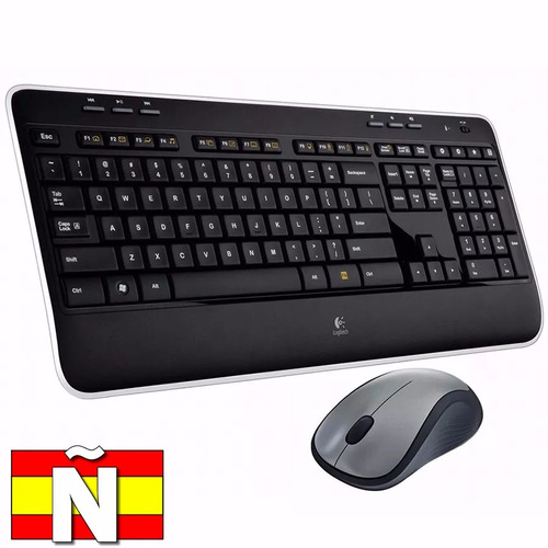 Teclado Mouse Inalambrico Español Mk520 Logitech