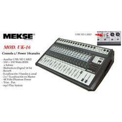 CONSOLA UK-16/N USB-SD MEKSE