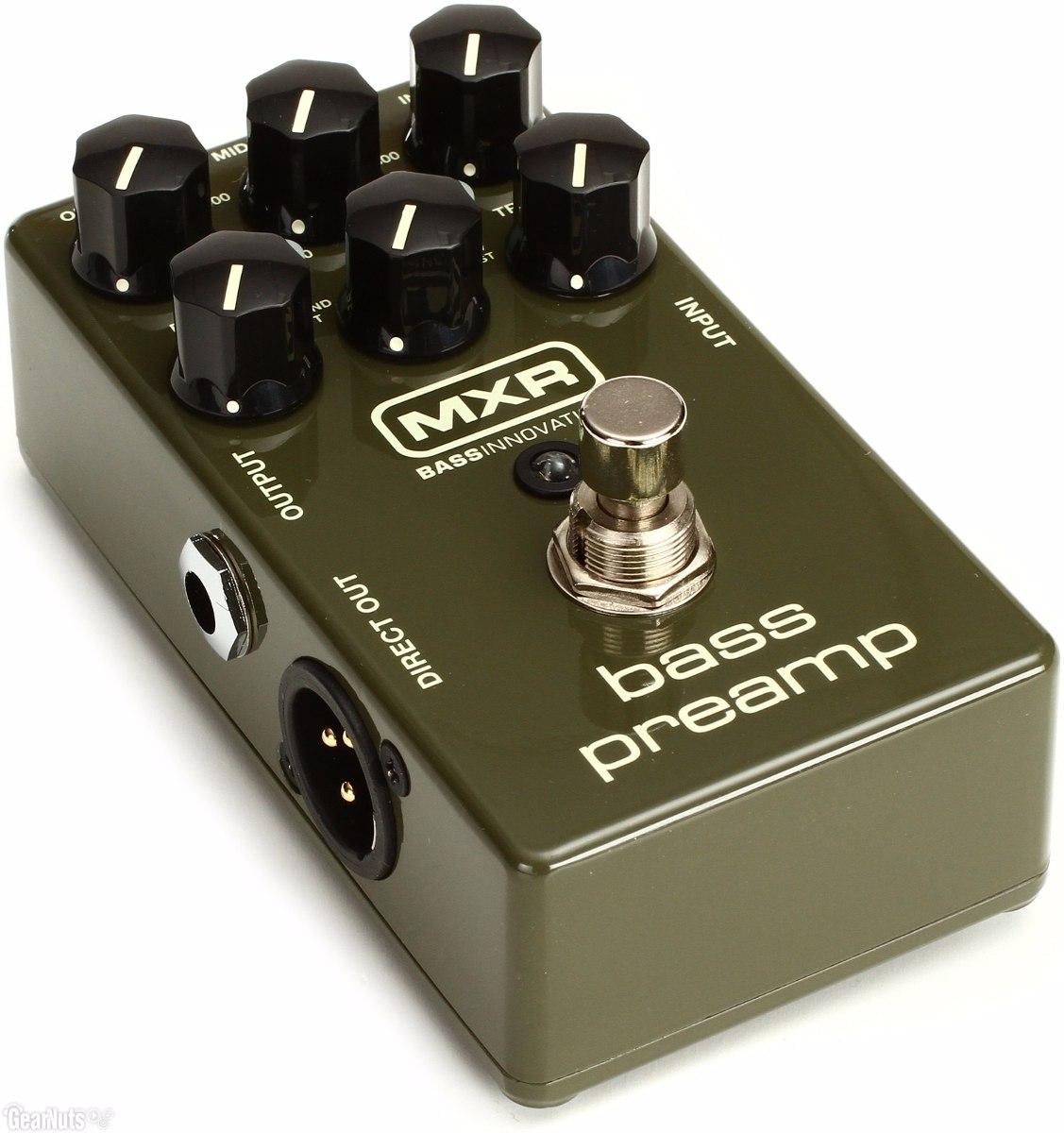Pedal De Efecto Para Bajo Mxr M81 Bass Preamp - Grey Music