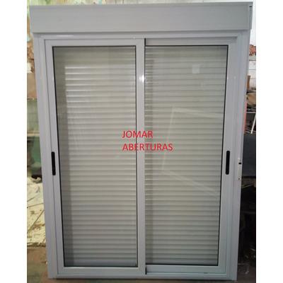 Puerta balcon sistema compacto modena x jo mar for Puerta balcon pvc