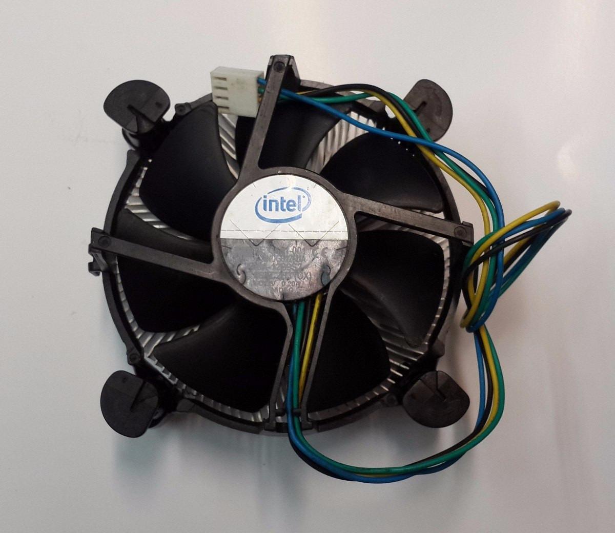 Cooler Intel Original Socket 775 Con Discipador Zona Centro