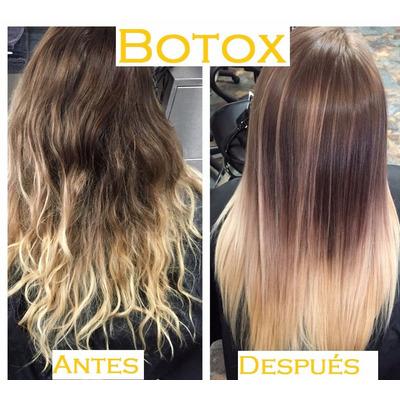 Botox para el pelo con rulos