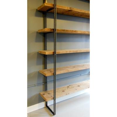 Estanteria Rustica Industrial Deco Muebles Rusticos - Estanterias-rusticas-de-madera