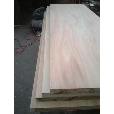 Puerta placa madera interior a medida sobre pedido sin for Puertas madera a medida