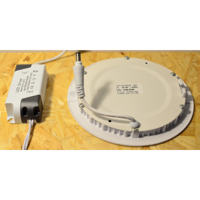 Plafon De Embutir Techo Led 9w Color Blanco Diseño  275.0 - THE ...