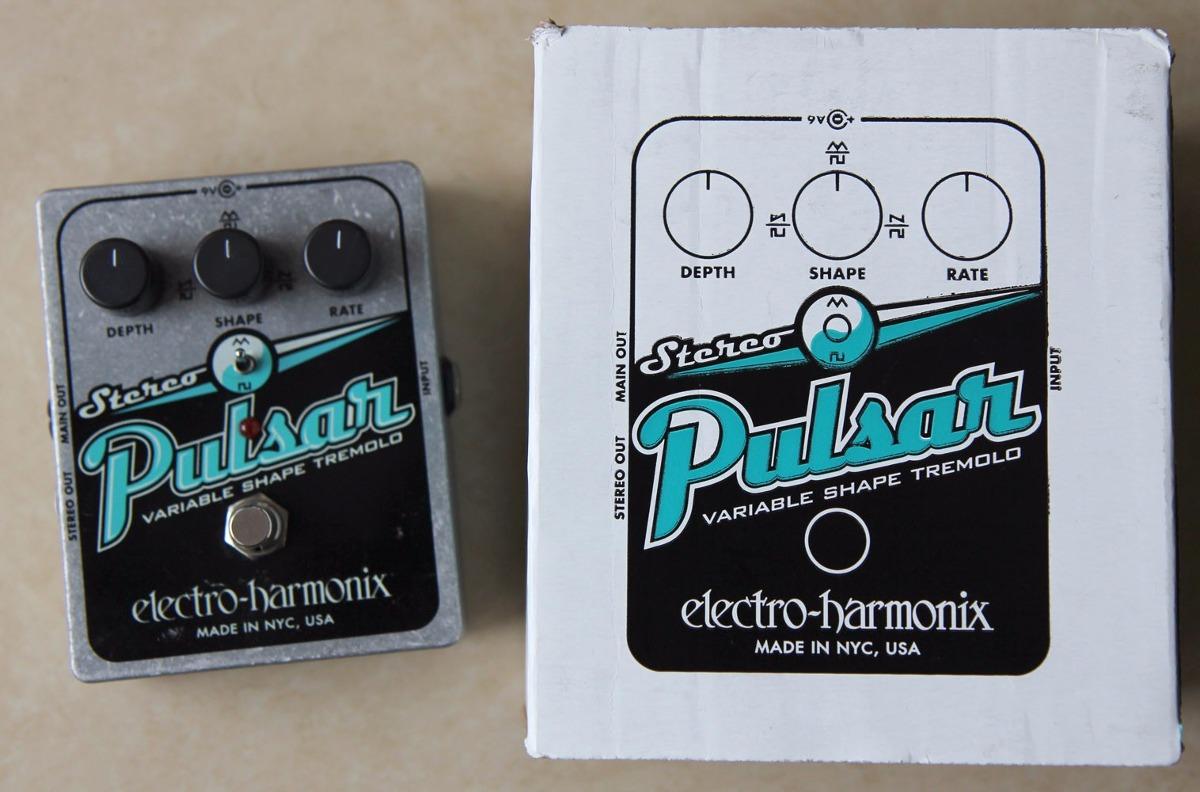 Pedal Electro Harmonix 140281 Stereo Pulsar Pedal De Tremolo