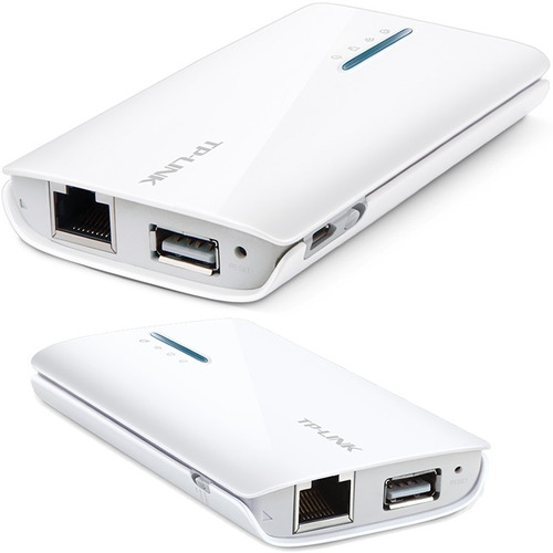 Router Wifi Portátil Tp-link Tl-mr3040 3g 4g Usb Recargable