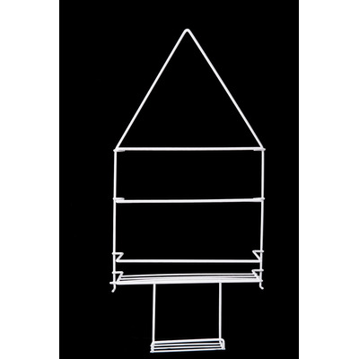 Organizador de ducha de alambre 2 estantes con jabonera for Organizador para ducha