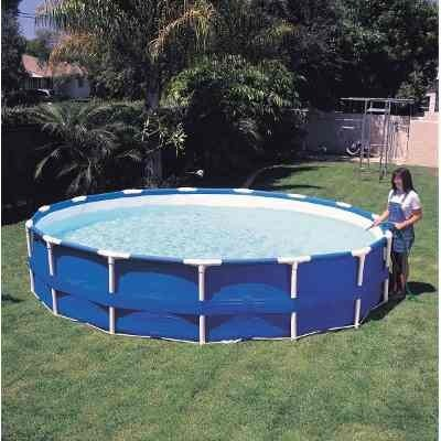 Pileta intex estructural 549x122 casi la mas grande for Piscina estructural intex