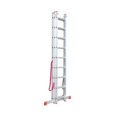 Escalera de aluminio extensible bombero ursustools for Precio de escalera extensible de aluminio
