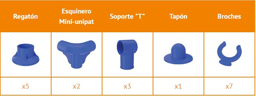 Set De Repuestos Para Pileta Pelopincho Modelo 1030