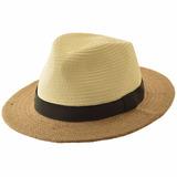 Sombrero De Yute Combinado H623077