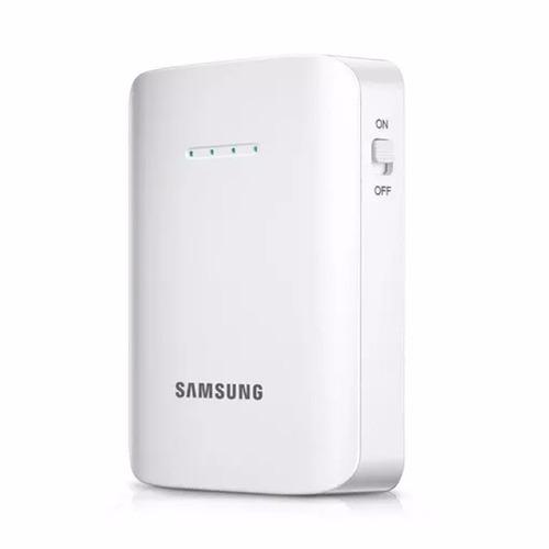 Bateria Pack Portatil Samsung 9000 Mah White Black Original