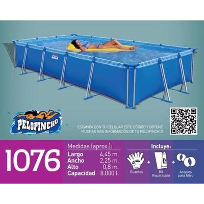 Pileta piscina de lona pelopincho 1076 x x for Piscina 8000 litros
