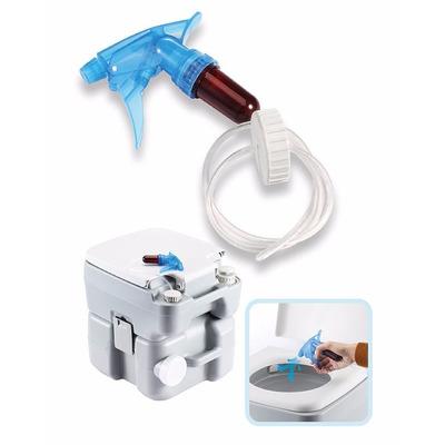 Inodoro quimico portatil con bomba a piston atomizador for Como cambiar la bomba del inodoro
