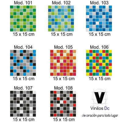 vinilo decorativo para azulejos