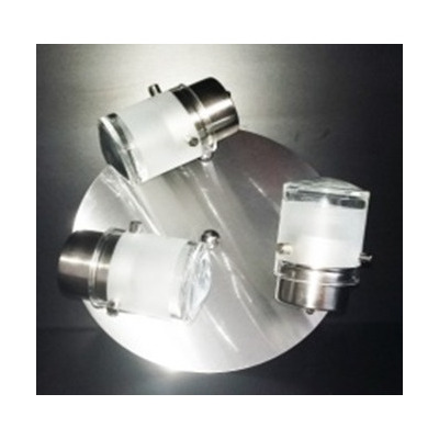 Ilunor aplique de techo 3 luces gu10 led mc iluminacion for Aplique para bano en acero inoxidable