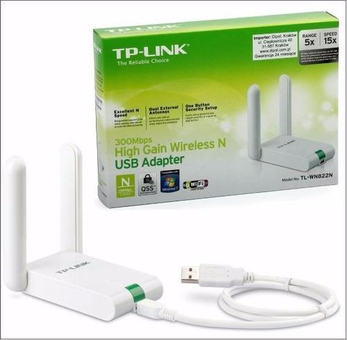 Adaptador Usb Wifi Tp Link 822n 300mbps