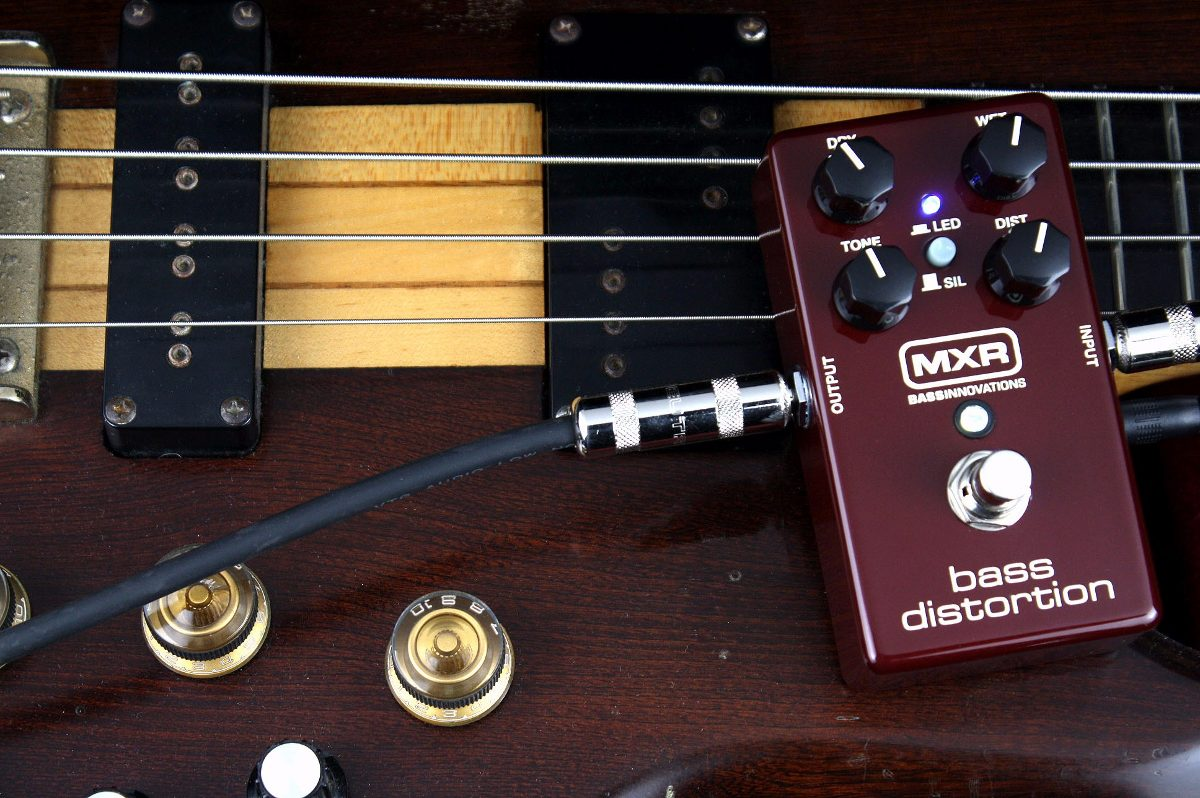 Pedal De Efecto Mxr M85 Bass Distortion P/ Bajo