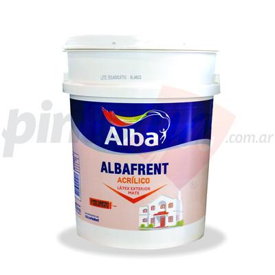 Pintura latex acrilico albafrent para exteriores x 20 - Pintura para exteriores precios ...