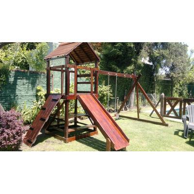 juegos de madera infantiles aptos para exteriores