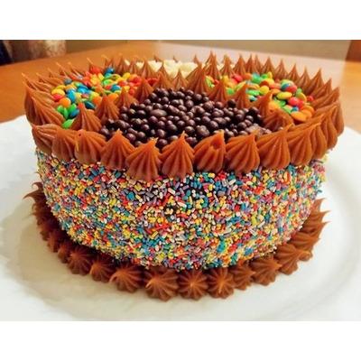 Torta golosinas decoradas tortas infantiles cumplea os for Tortas decoradas sencillas