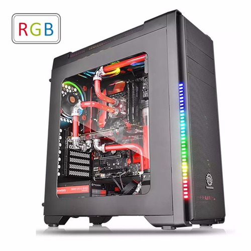 Gabinete Pc Thermaltake Versa C21 Rgb Mid Tower Ventana