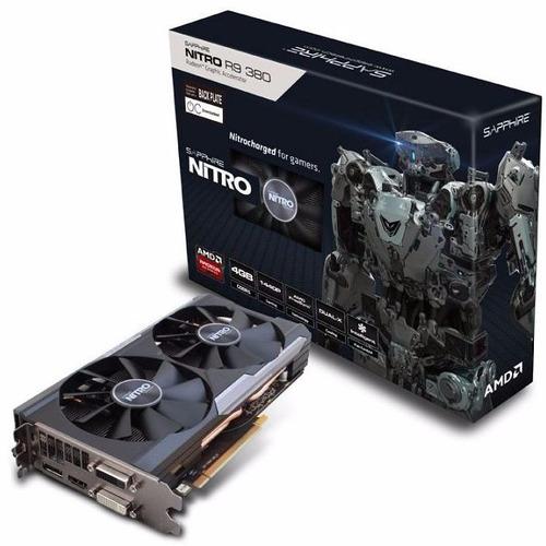 Video Sapphire Ati Radeon Nitro R9 380 4gb Ddr5 Oc 256 Bits