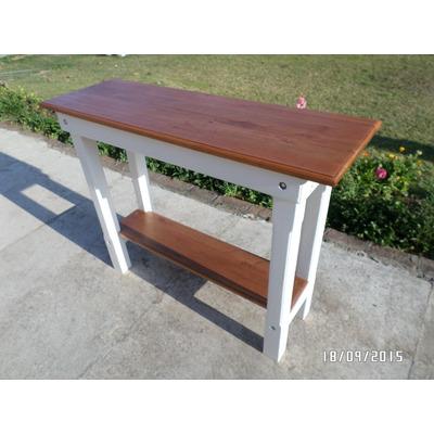 Mesa auxiliar desayunador barra de cocina madera for Barra auxiliar para cocina