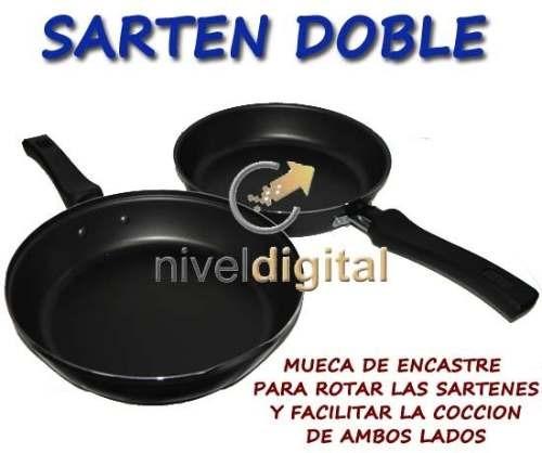 Set X 2 Pz Tramontina Omeletera + Sarten Tapa Teflon Starflo