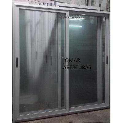 Puerta balcon aluminio linea modena x oferta for Puerta balcon aluminio