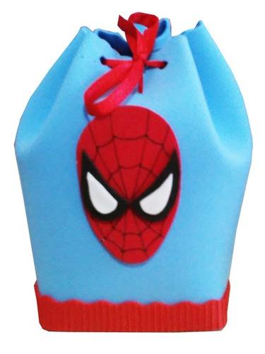 a3ba3bd9e Bolsita Golosinera Spiderman En Goma Eva. en venta en Bella Vista ...
