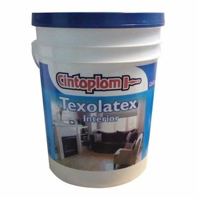 Pintura latex interior cintoplom 20 l blanco 100 cubritivo for Pintura interior precio