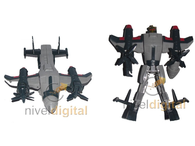 Autobot Robot Transformer Transformable Realistico Blister